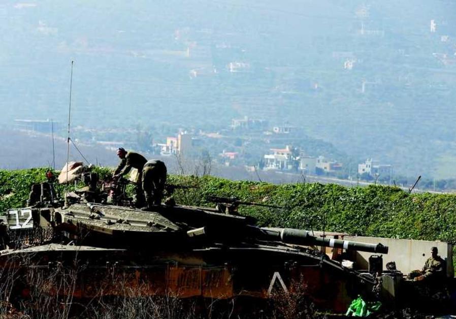 Des soldats israéliens près de la frontière libanaise