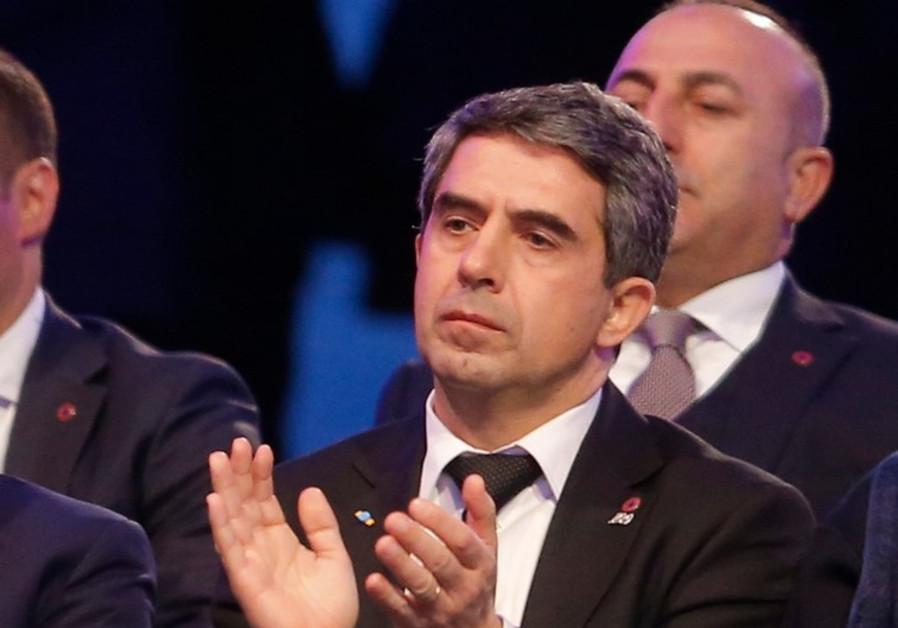 Bulgarian President Rosen Plevneliev.