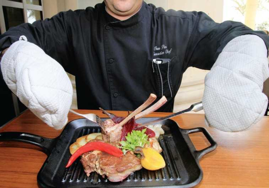 Cooking with disability