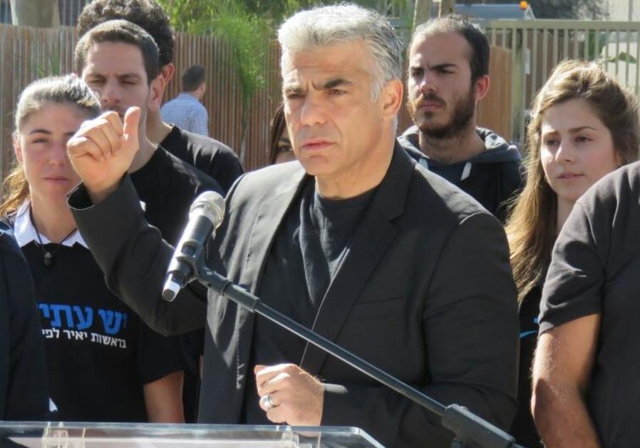 Yair Lapid, February 2, 2015