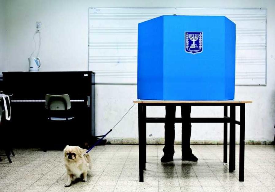Un israélien dans l'intimité de l'urne
