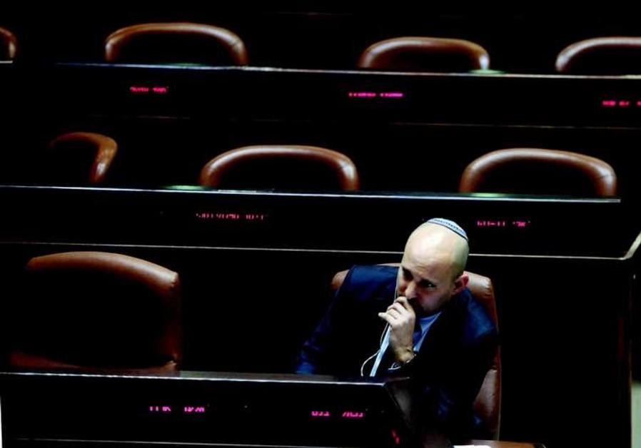 Le chef de HaBayit HaYehoudi n'est pas sorti indemne de l'affaire Ohanna