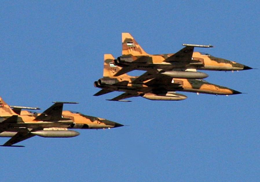 Jordanian jets