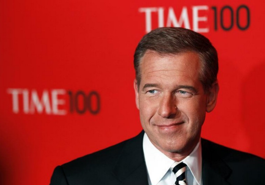 Television news anchor Brian Williams