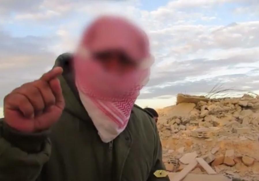 Sinai terrorist