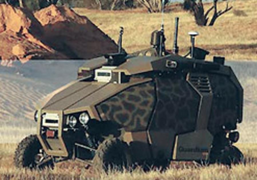 Elbit ground vehicle.