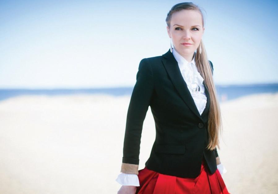 Estonian jazz vocalist Kadri Voorand