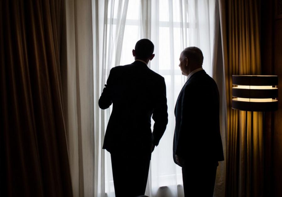 US President Barack Obama and Prime Minister Benjamin Netanyahu