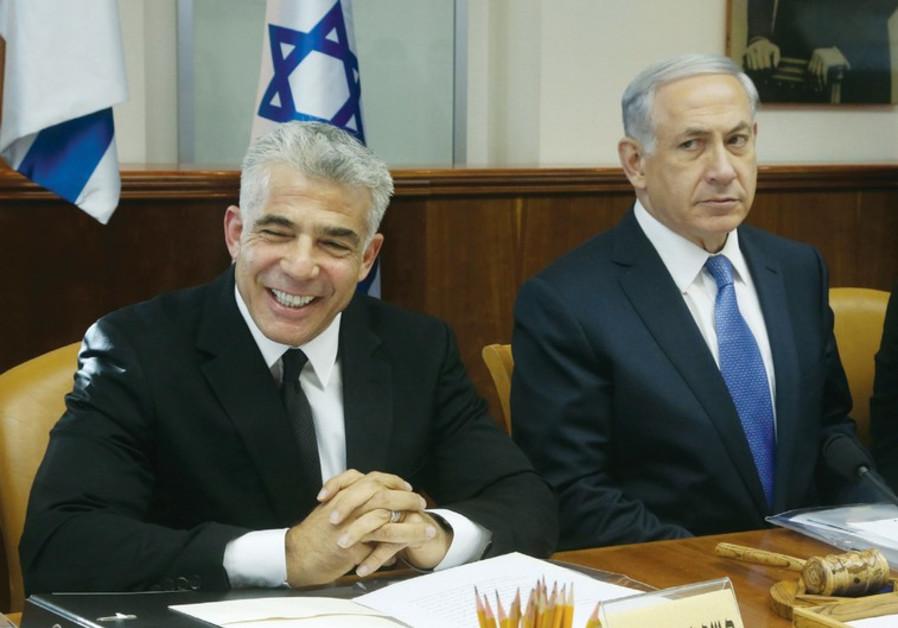 Netanyahu Lapid