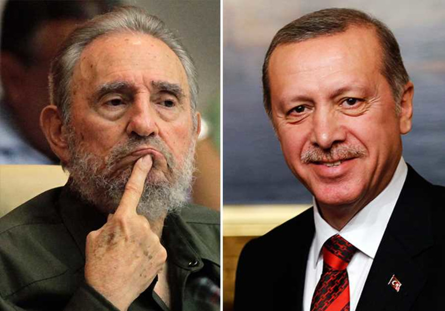 Castro and Erdogan