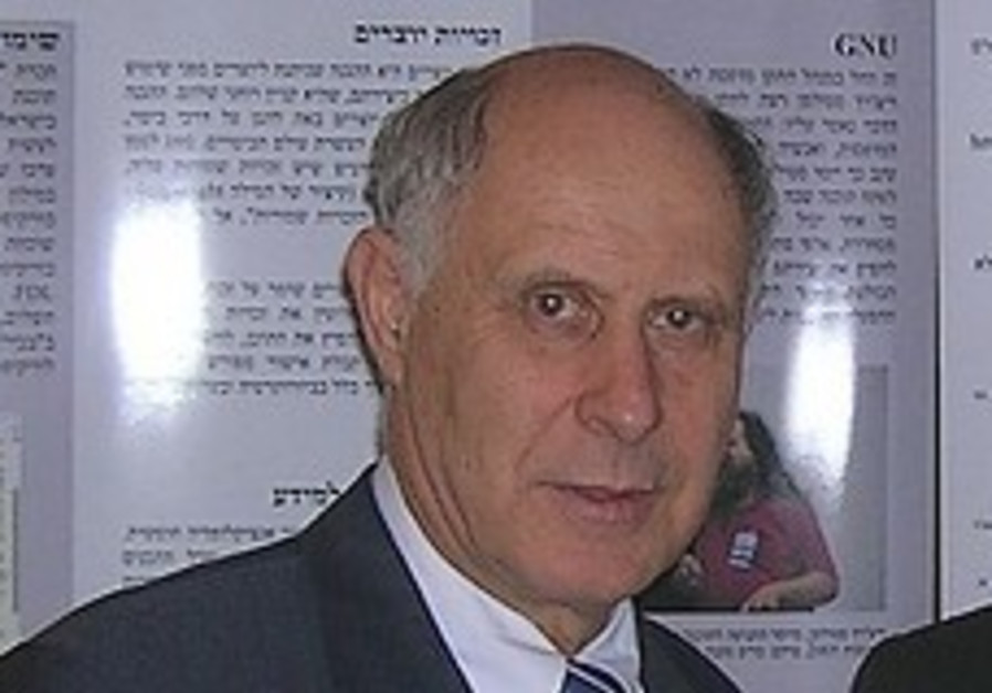 Minister without Portfolio Michael Eitan.