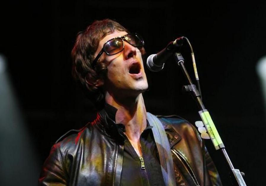 British singer Richard Ashcroft of the rock bank The Verve