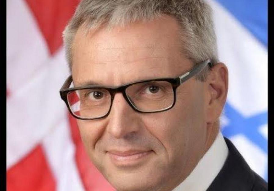 Jesper Vahr, Denmark's ambassador to Israel