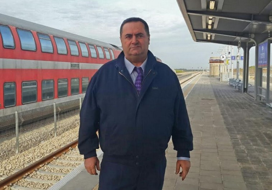 Transportation Minister Yisrael Katz