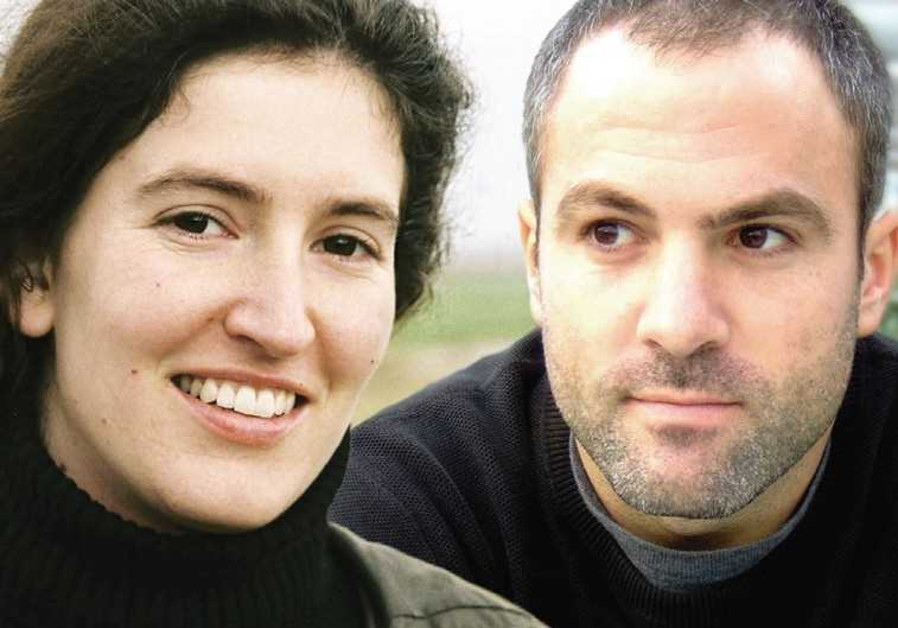 MIHAL BREZIS and Oded Binnun, the Israeli co-directors of the Oscar-nominated short film 'Aya.'