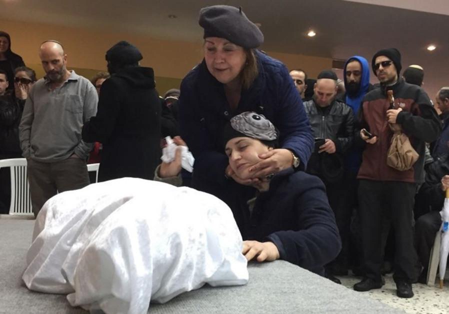 Mourners bid farewell to four-year-old Adele Biton