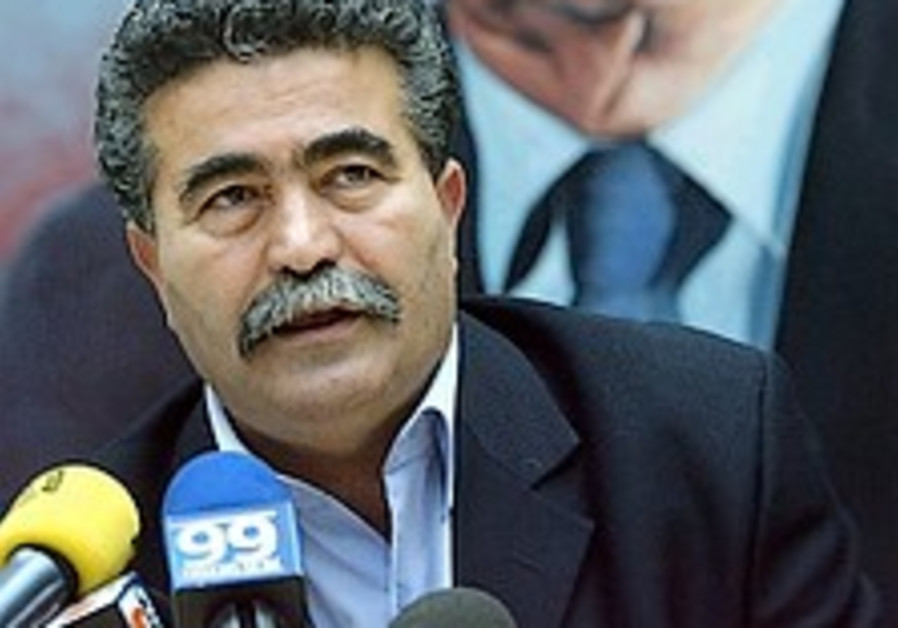 peretz addresses labor faction 298