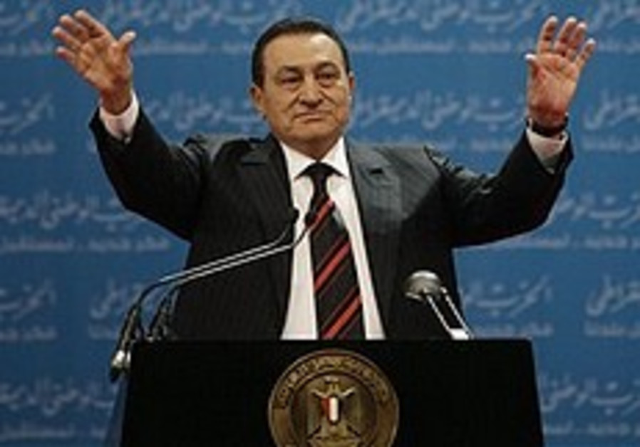 Mubarak warns Iran of Cairo's 'fury'