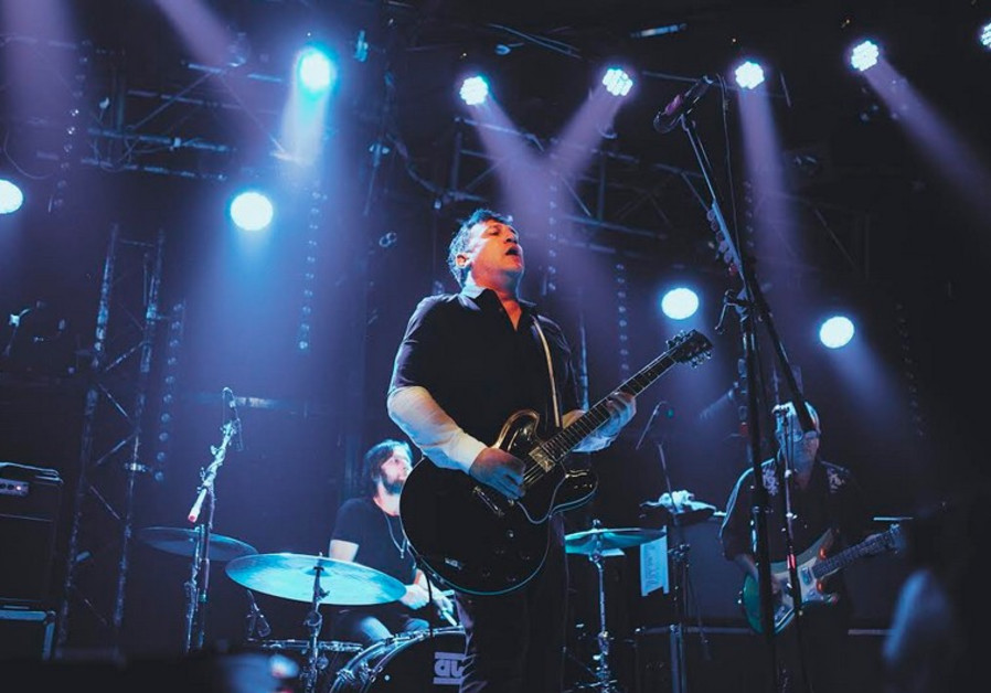 GREG DULLI leads the Afghan Whigs at the Barby Club in Tel Aviv