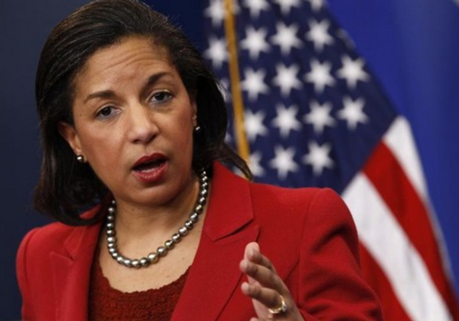 Former US national security advisor Susan Rice (Credit: Reuters)