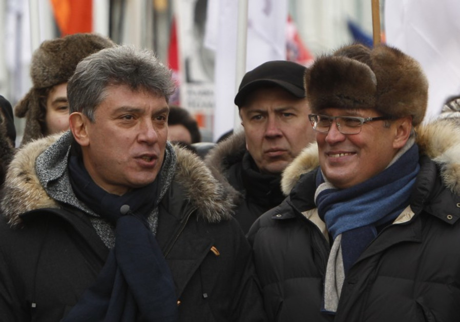 Opposition leader Boris Nemstsov