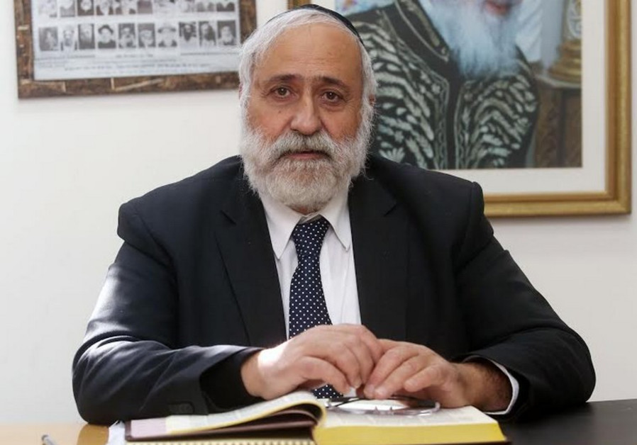 Shas founder and outgoing MK Nissim Ze'ev.
