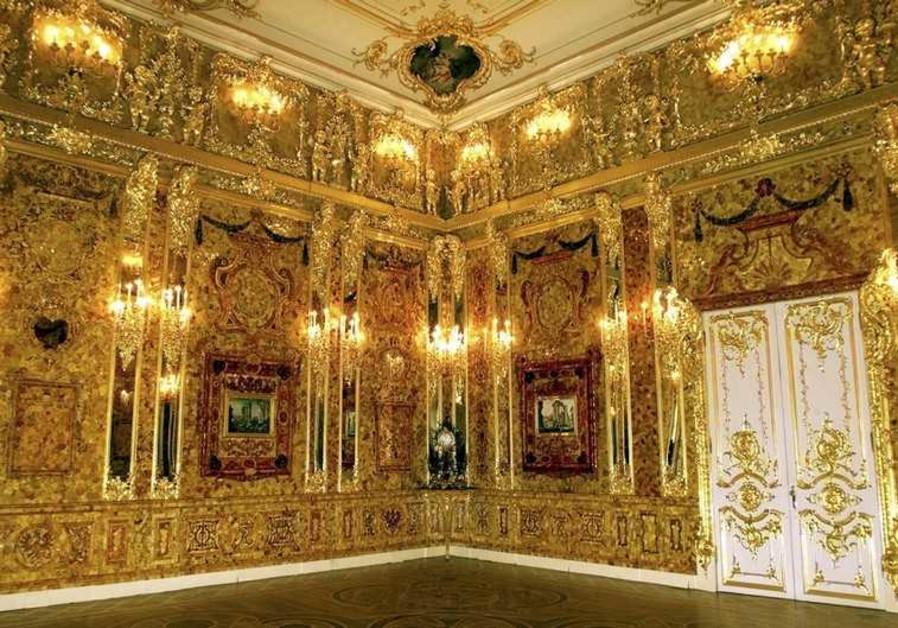Russia's legendary Amber Room
