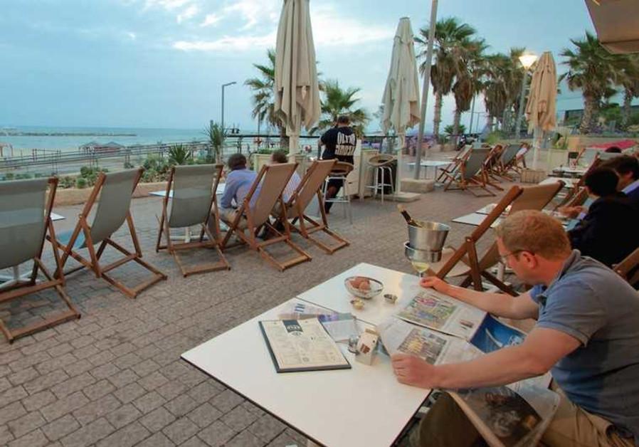 Masada restaurant in Tel Aviv