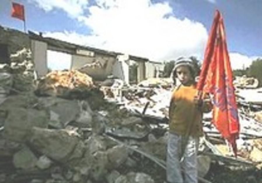 Two outposts evacuated near Kiryat Arba