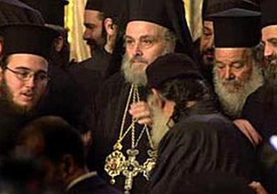 Ousted Greek Orthodox patriarch blasts Greek gov't