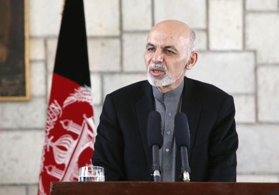 Afghan President Ashraf Ghani.