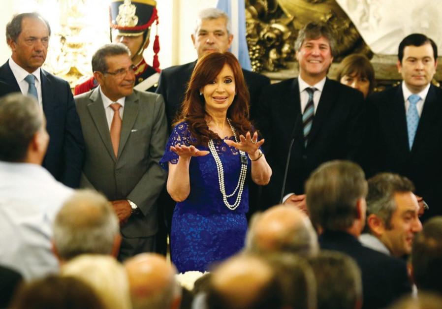Cristina de Fernandez Kirchner