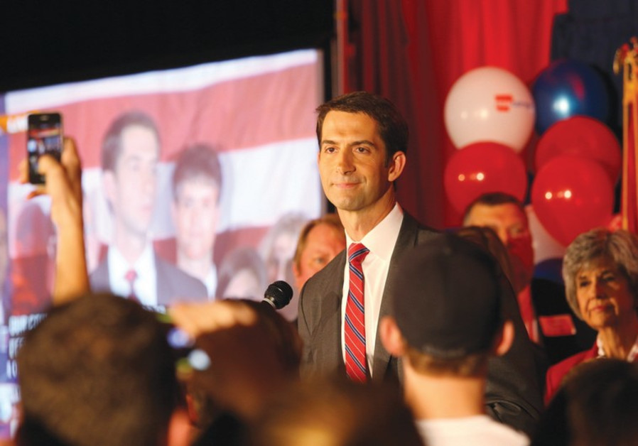 Republican Senator Tom Cotton from Arkansas,