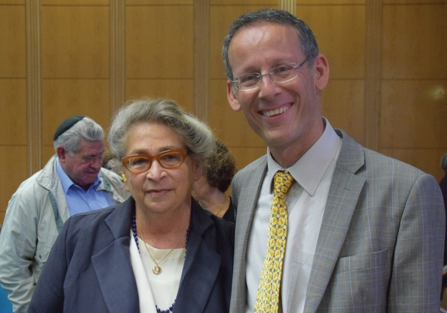 NECHAMA RIVLIN and PROF. GABRIEL IZBICKI.