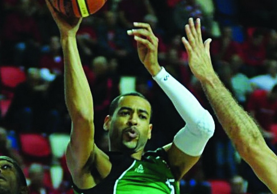 Maccabi Haifa's Rene Rougeau
