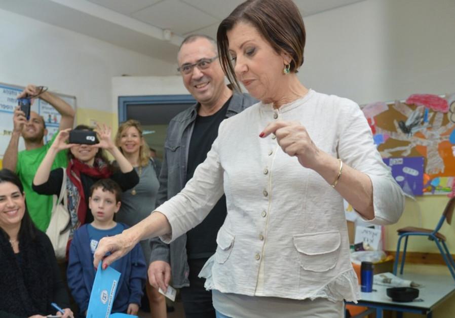 Meretz leader Zehava Gal-On