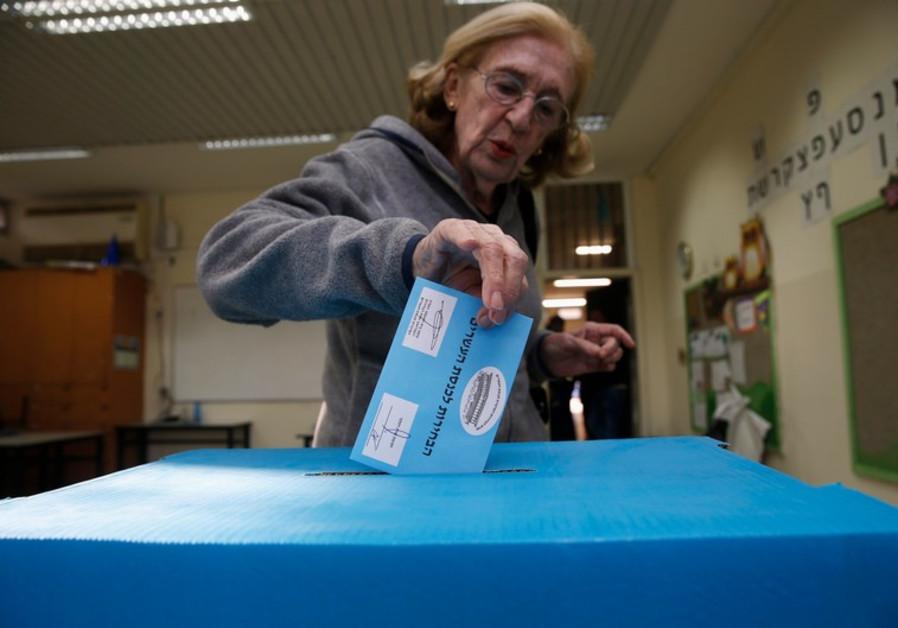 Israeli women votes