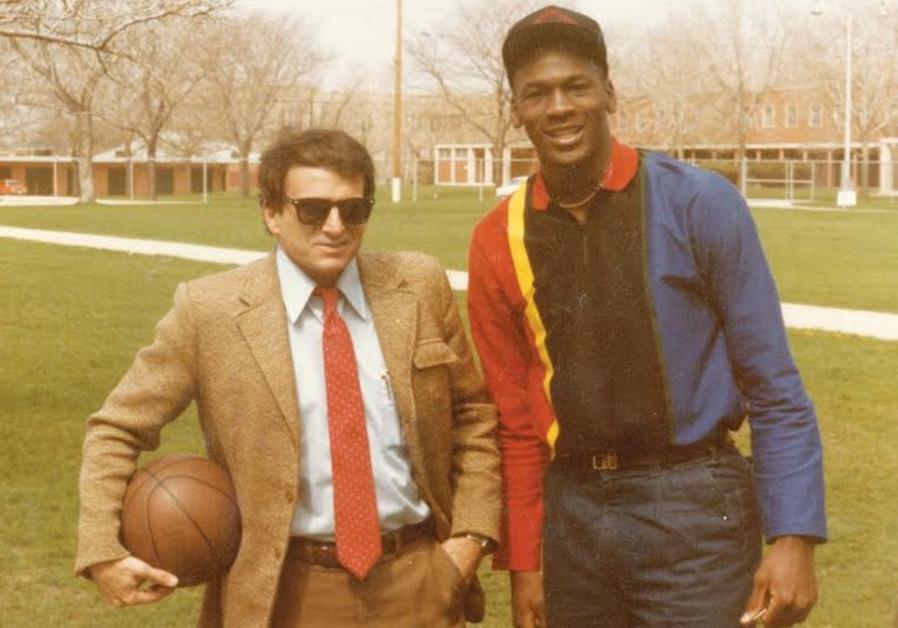 Arik Henig and Michael Jordan in 1984