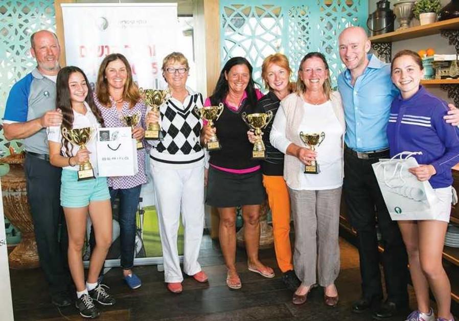 Women's Tournament winners