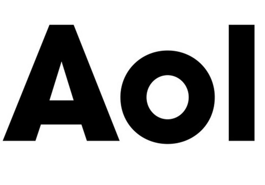 AOL logo.