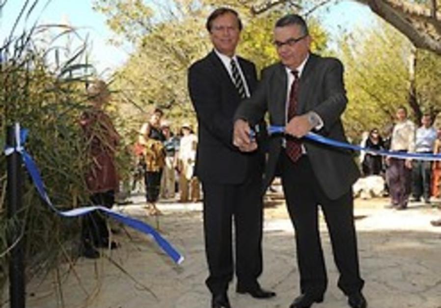 The Revival of Mount Scopus Botanical Garden