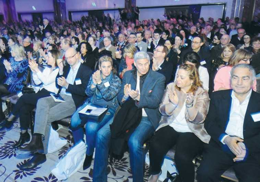 UK SUPPORTERS OF ISRAEL participate in a day-long conference