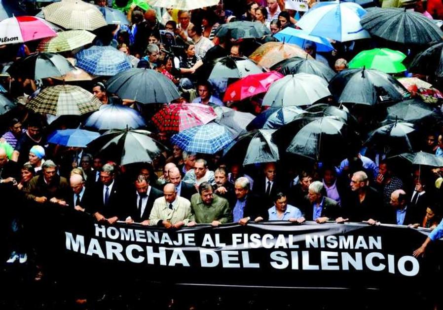 La grande marche de Buenos Aires