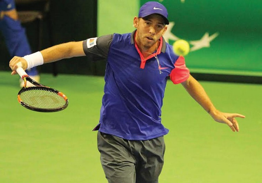 Israel's top tennis star, Dudi Sela