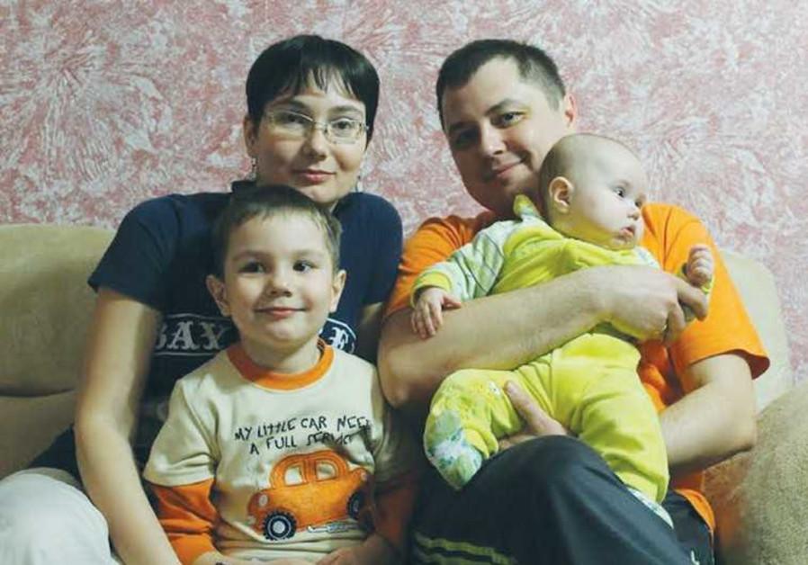 JULIA AND ANDREI Evashenko plan to flee Mariupol a third time.