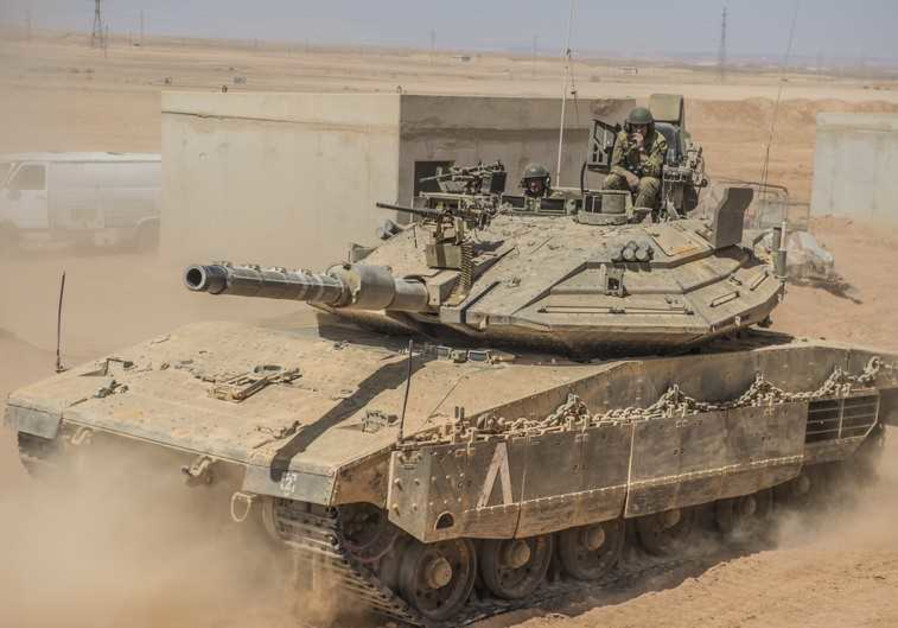 Infantry commanders ride in tanks as part of new war training