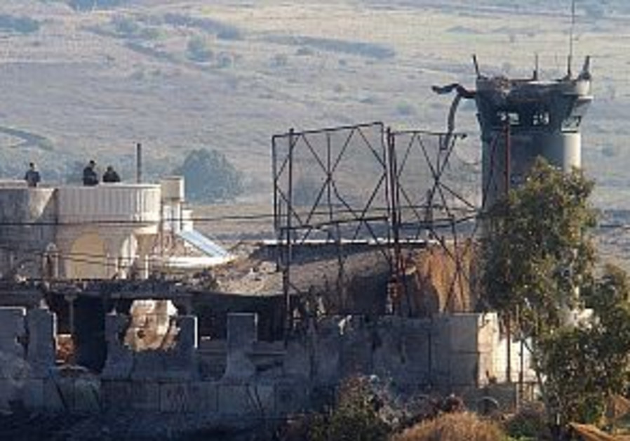 hizbullah damage to idf position north 298.88