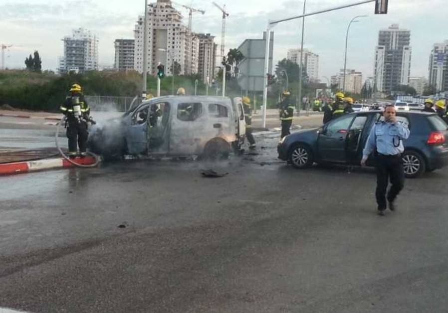 Car bomb in Israel