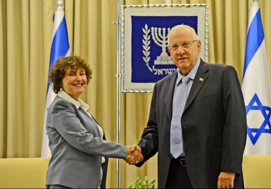 Karnit Flug and Reuven Rivlin