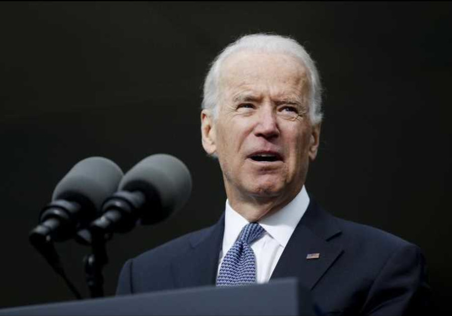 US Vice President Joe Biden speaks during an appearance in Boston
